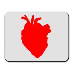 Podkładka pod mysz Heart abstraction