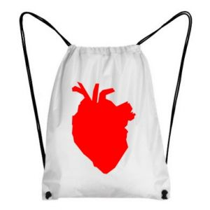 Plecak-worek Heart abstraction