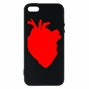 Etui na iPhone 5/5S/SE Heart abstraction