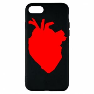 Etui na iPhone 7 Heart abstraction
