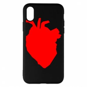 Etui na iPhone X/Xs Heart abstraction
