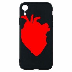 Etui na iPhone XR Heart abstraction