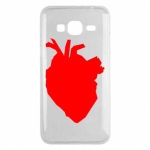 Etui na Samsung J3 2016 Heart abstraction