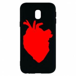 Etui na Samsung J3 2017 Heart abstraction