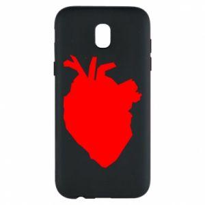 Etui na Samsung J5 2017 Heart abstraction