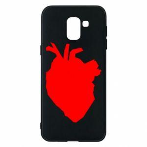 Etui na Samsung J6 Heart abstraction