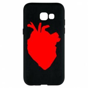 Etui na Samsung A5 2017 Heart abstraction