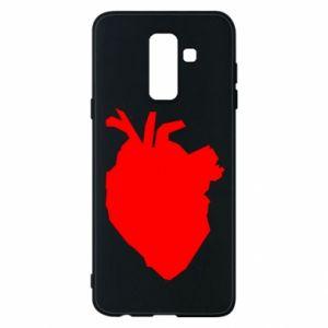 Etui na Samsung A6+ 2018 Heart abstraction