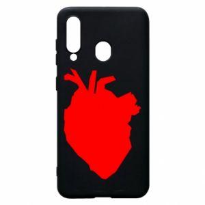 Etui na Samsung A60 Heart abstraction