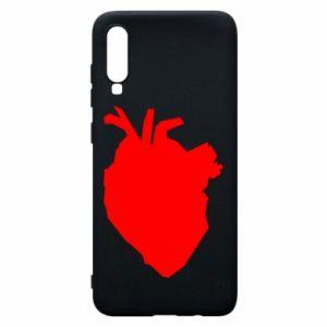 Etui na Samsung A70 Heart abstraction
