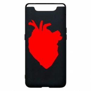 Etui na Samsung A80 Heart abstraction
