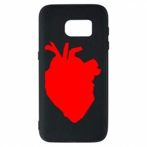 Etui na Samsung S7 Heart abstraction