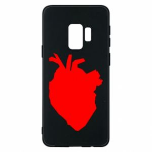 Etui na Samsung S9 Heart abstraction