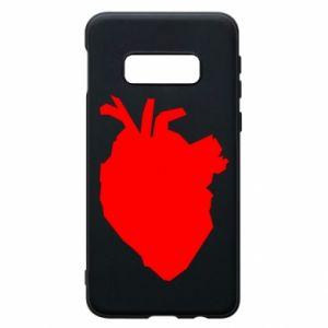 Etui na Samsung S10e Heart abstraction