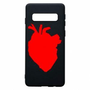 Etui na Samsung S10 Heart abstraction