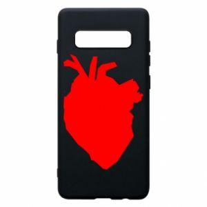Etui na Samsung S10+ Heart abstraction