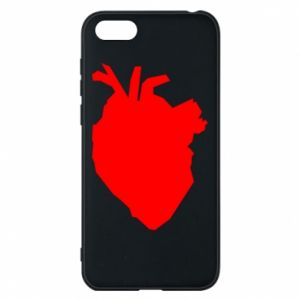 Etui na Huawei Y5 2018 Heart abstraction