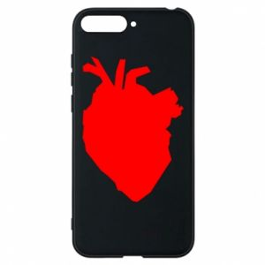 Etui na Huawei Y6 2018 Heart abstraction