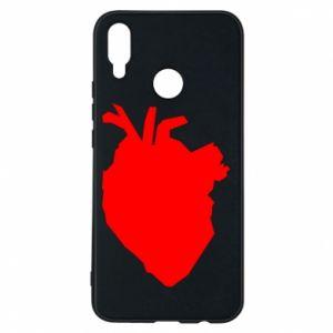 Etui na Huawei P Smart Plus Heart abstraction