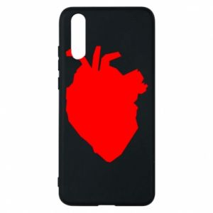 Etui na Huawei P20 Heart abstraction