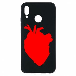 Etui na Huawei P20 Lite Heart abstraction