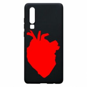 Etui na Huawei P30 Heart abstraction