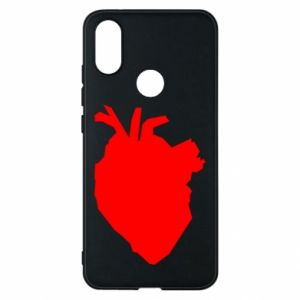 Etui na Xiaomi Mi A2 Heart abstraction