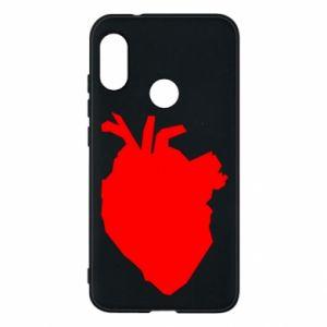 Etui na Mi A2 Lite Heart abstraction