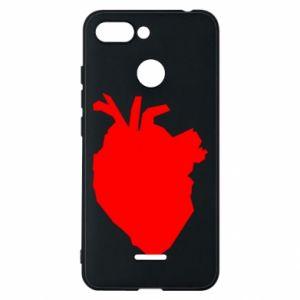 Etui na Xiaomi Redmi 6 Heart abstraction