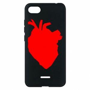 Etui na Xiaomi Redmi 6A Heart abstraction