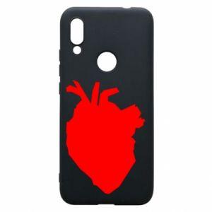 Etui na Xiaomi Redmi 7 Heart abstraction