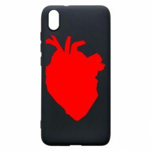Etui na Xiaomi Redmi 7A Heart abstraction