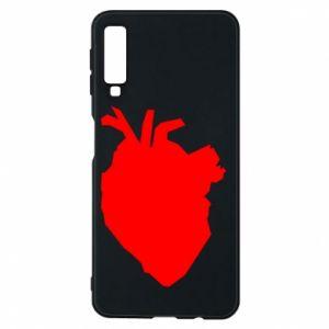 Etui na Samsung A7 2018 Heart abstraction