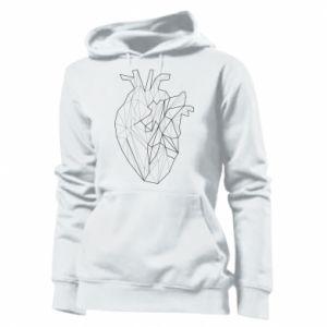 Damska bluza Heart line