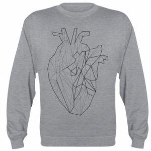 Bluza (raglan) Heart line