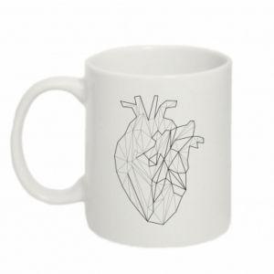 Kubek 330ml Heart line
