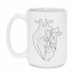 Kubek 450ml Heart line