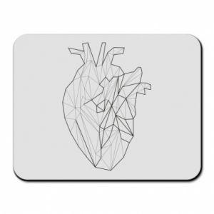 Podkładka pod mysz Heart line
