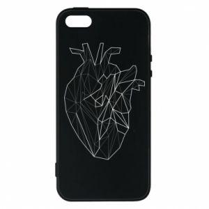 Etui na iPhone 5/5S/SE Heart line