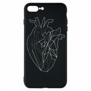 Etui na iPhone 7 Plus Heart line
