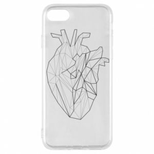 Etui na iPhone 8 Heart line