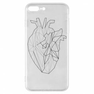 Etui na iPhone 8 Plus Heart line