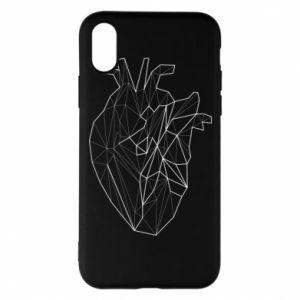 Etui na iPhone X/Xs Heart line