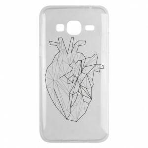 Etui na Samsung J3 2016 Heart line