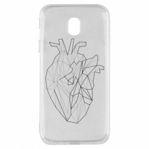 Etui na Samsung J3 2017 Heart line