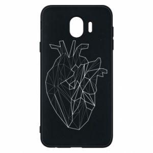 Etui na Samsung J4 Heart line