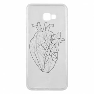 Etui na Samsung J4 Plus 2018 Heart line