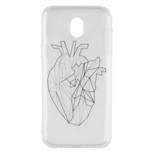 Etui na Samsung J5 2017 Heart line