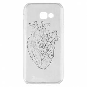 Etui na Samsung A5 2017 Heart line