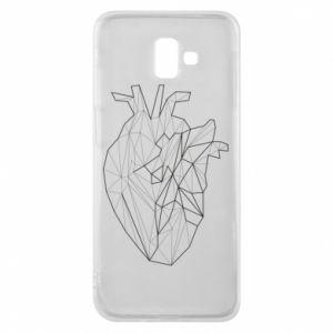 Etui na Samsung J6 Plus 2018 Heart line